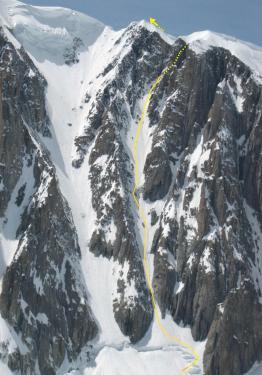 Mont Blanc du Tacul - Couloir Jager