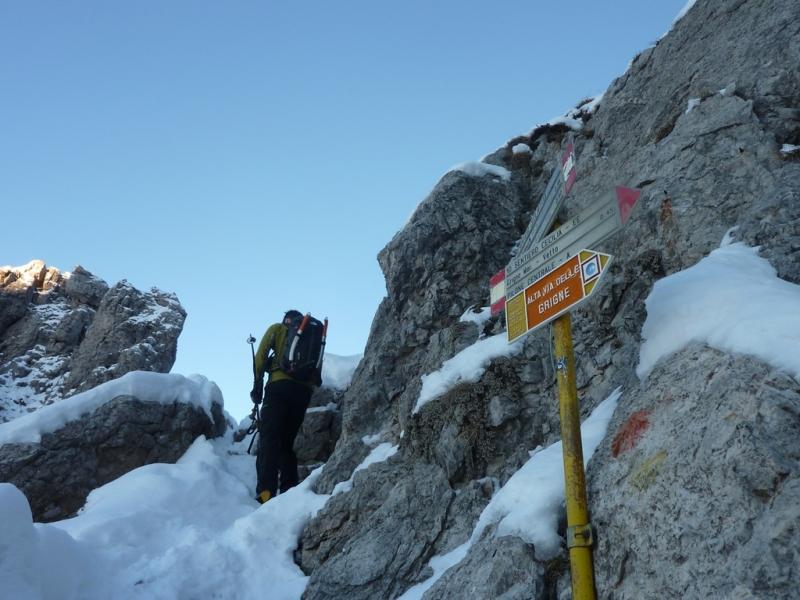 Mountainspace - grignetta segantini invernale 1 2012 P1080708
