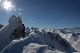 Grieshorn scialpinismo - canale nord (18)