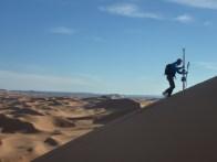 sci nel deserto dune sabbia snowboard P1100188