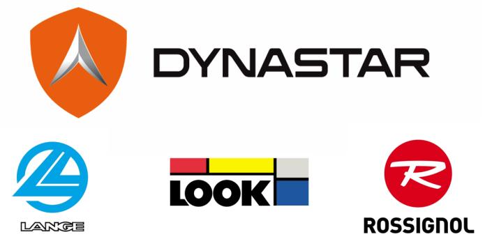 Loghi Dynastar - Look - Lange - Rossignol