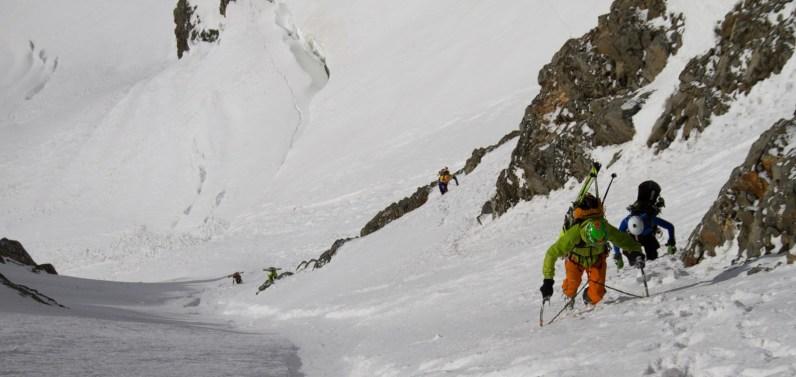 3 pizzo bernina scialpinismo direttissima canale sud sci mountainspace giacomo longhi (2)