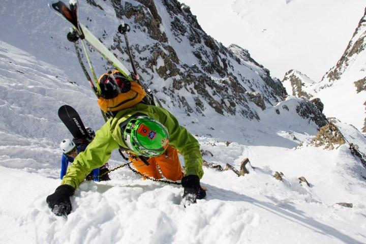 9 pizzo bernina scialpinismo direttissima canale sud sci mountainspace giacomo longhi (8)