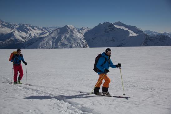 Fletschorn discesa sci parete nord via viennesi scialpinismo sci ripido giacomo jack longhi mountainspaceIMG_4692