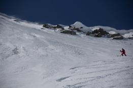 Fletschorn discesa sci parete nord via viennesi scialpinismo sci ripido giacomo jack longhi mountainspaceIMG_4701