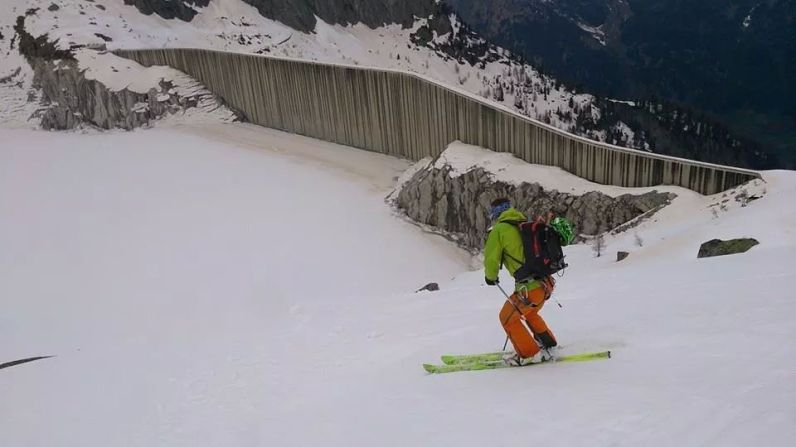 pizzo del ferro orientale sci ripido discesa sci albigna mountainspace (2)