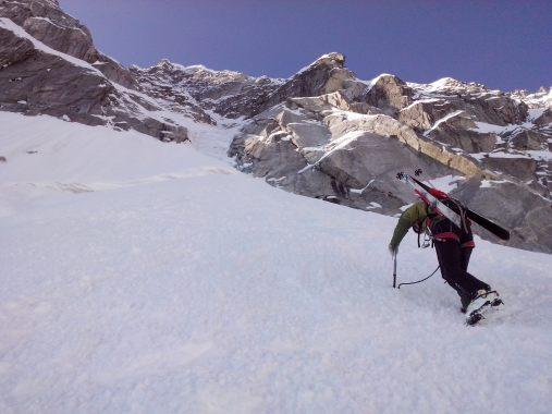 pizzo del ferro orientale sci ripido discesa sci albigna mountainspace (4)