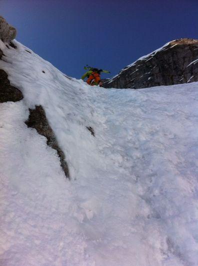 pizzo del ferro orientale sci ripido discesa sci albigna mountainspace (8)
