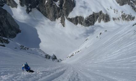 pizzo del ferro orientale sci ripido discesa sci capanna albigna mountainspace (4)