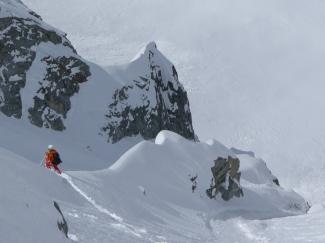 pizzo del ferro orientale sci ripido discesa sci capanna albigna mountainspace (5)
