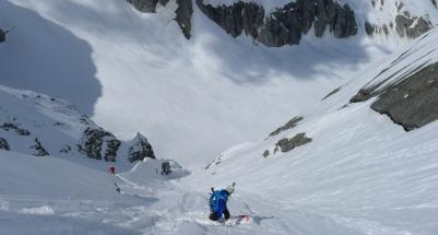 pizzo del ferro orientale sci ripido discesa sci capanna albigna mountainspace (7)
