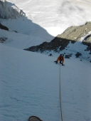 Piz cambrena via del seracco scivolo nord piz arlas piz palu mountainspace skialper bernina diavolezza alpinismo engadina palù naso ghiaccio giacomo longhi michele gusmini (13)