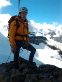 Piz cambrena via del seracco scivolo nord piz arlas piz palu mountainspace skialper bernina diavolezza alpinismo engadina palù naso ghiaccio giacomo longhi michele gusmini (14)