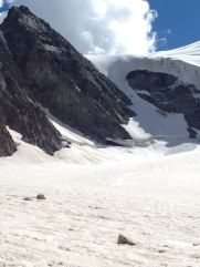 Piz cambrena via del seracco scivolo nord piz arlas piz palu mountainspace skialper bernina diavolezza alpinismo engadina palù naso ghiaccio giacomo longhi michele gusmini (3)