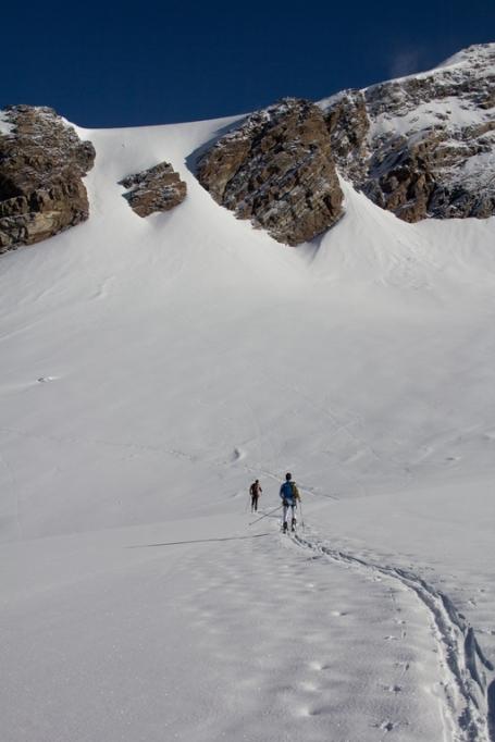 Scialpinismo monte rosa monte rosa highway skialper capanna margherita giacomo longhi mountainspace vincent parrot corno nero balmenhorn zumstein - (1)