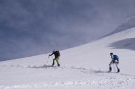 Scialpinismo monte rosa monte rosa highway skialper capanna margherita giacomo longhi mountainspace vincent parrot corno nero balmenhorn zumstein - (18)