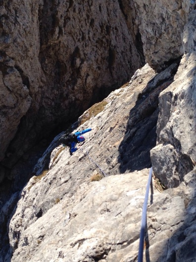 Grignetta segantini mare di nuvole giacomo longhi michle gusmini marco ballerini magnaghi bivacco climb lecco forno della grigna camp mountainspace (10)