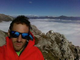 Grignetta segantini mare di nuvole giacomo longhi michle gusmini marco ballerini magnaghi bivacco climb lecco forno della grigna camp mountainspace (15)