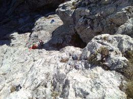 Grignetta segantini mare di nuvole giacomo longhi michle gusmini marco ballerini magnaghi bivacco climb lecco forno della grigna camp mountainspace (17)