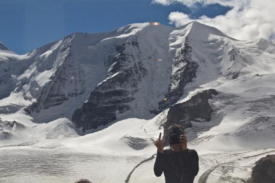 Piz Palu - quarto sperone - palu bernina soresini kuffner alpinismo diavolezza cambrena giacomo longhi mountainspace marco ballerini giorgio colzani (35)