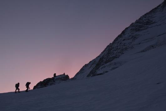 Presanella couloir dell'S rifugio denza velon stavel mountainspace giacomo longhi valentino cividini cima di vermiglio tonale climb muraccia camp cassin (1)