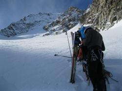 Piz morteratsch via zippert sci boval tschierva mountainspace giacomo longhi marco ballerini scialpinismo engadina bernina valentino cividini spraunza (25)