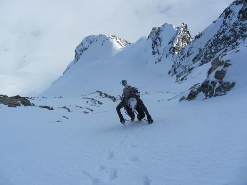 Piz morteratsch via zippert sci boval tschierva mountainspace giacomo longhi marco ballerini scialpinismo engadina bernina valentino cividini spraunza (28)
