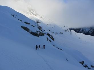 Piz morteratsch via zippert sci boval tschierva mountainspace giacomo longhi marco ballerini scialpinismo engadina bernina valentino cividini spraunza (6)